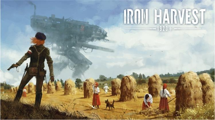 Picture with tags: Interesting, Iron Harvest, Games, Gaming
