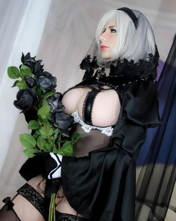 Picture with tags: HD, Cosplay, Auto moderation, ,