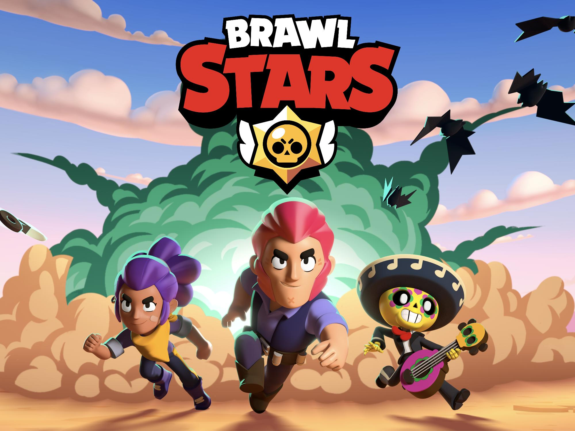 Picture with tags: HD, Interesting, Games, Gaming, Brawl Stars