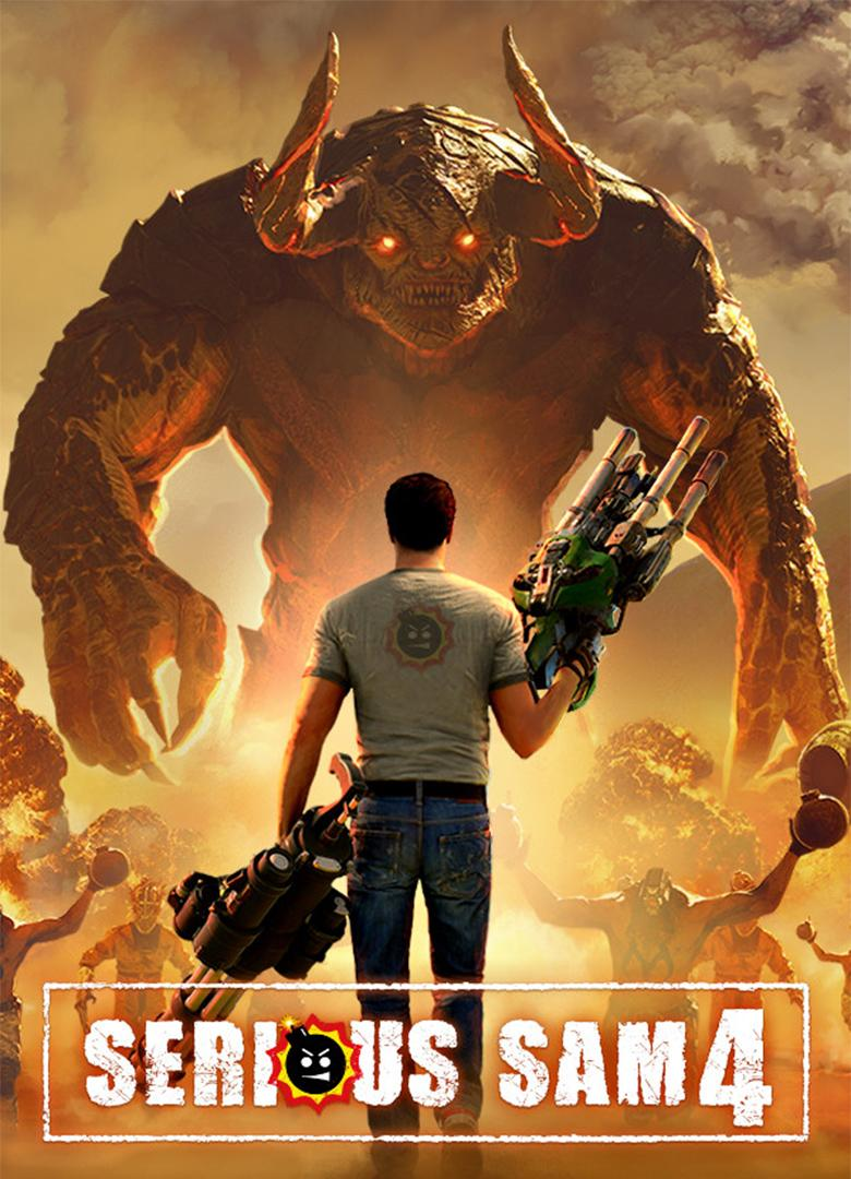 Picture with tags: Serious Sam 4, Games, Gaming