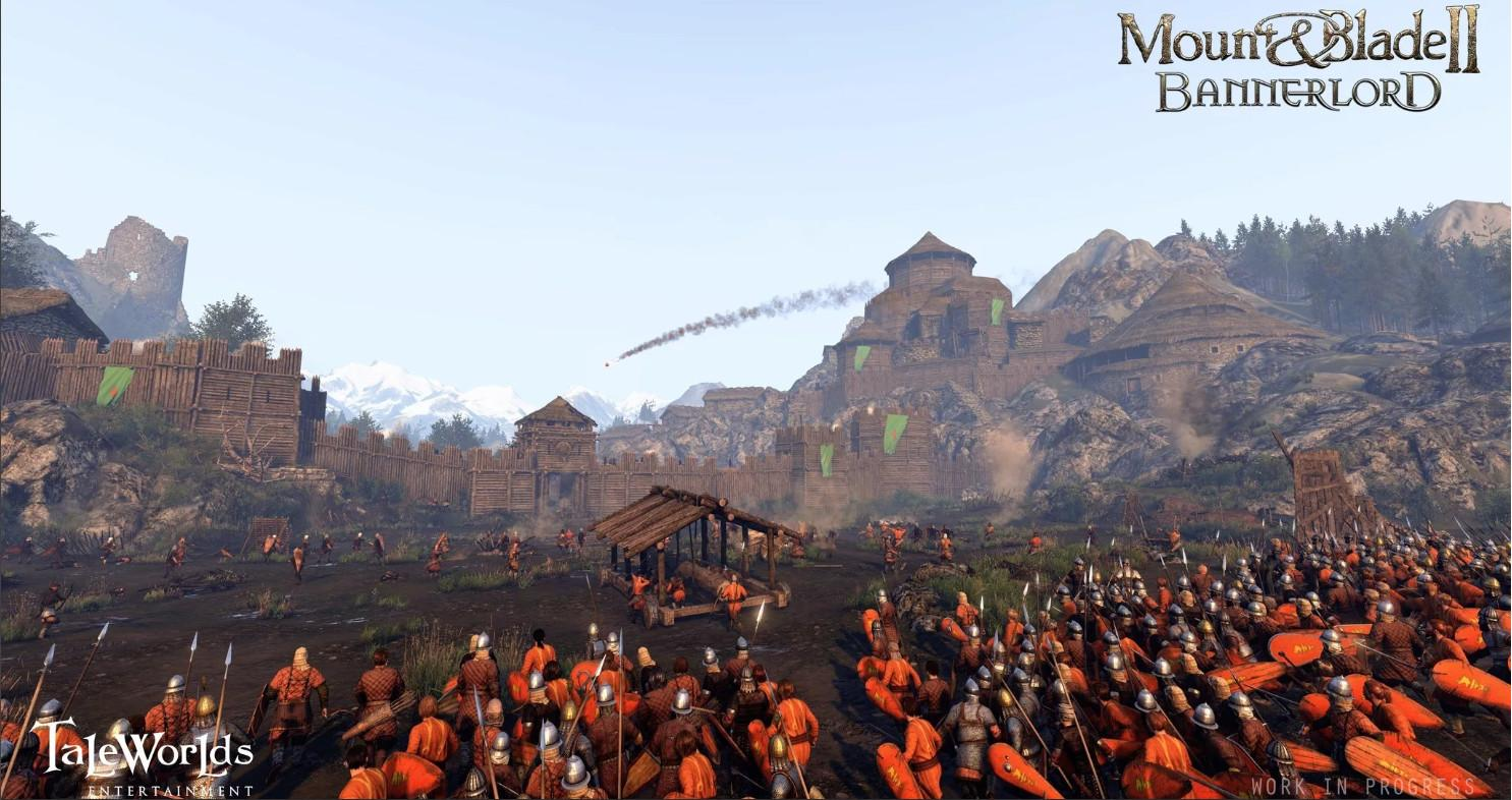 Picture with tags: Trailers, PC, Steam Helper, Action, Releases, Mount & Blade 2: Bannerlord, RPG, Reviews
