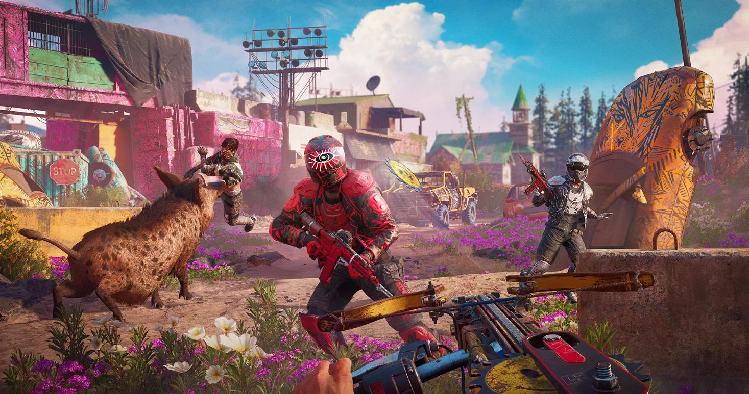 Picture with tags: News, Trailers, PlayStation 5, Interesting, Shooter, Releases, Gaming, Far Cry