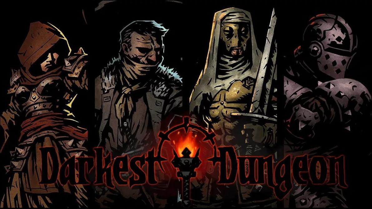 Picture with tags: IOS, Xbox One, PlayStation 4, Interesting, Nintendo Switch, Xbox Series X, PC, Darkest Dungeon, Role-playing, Recommendations