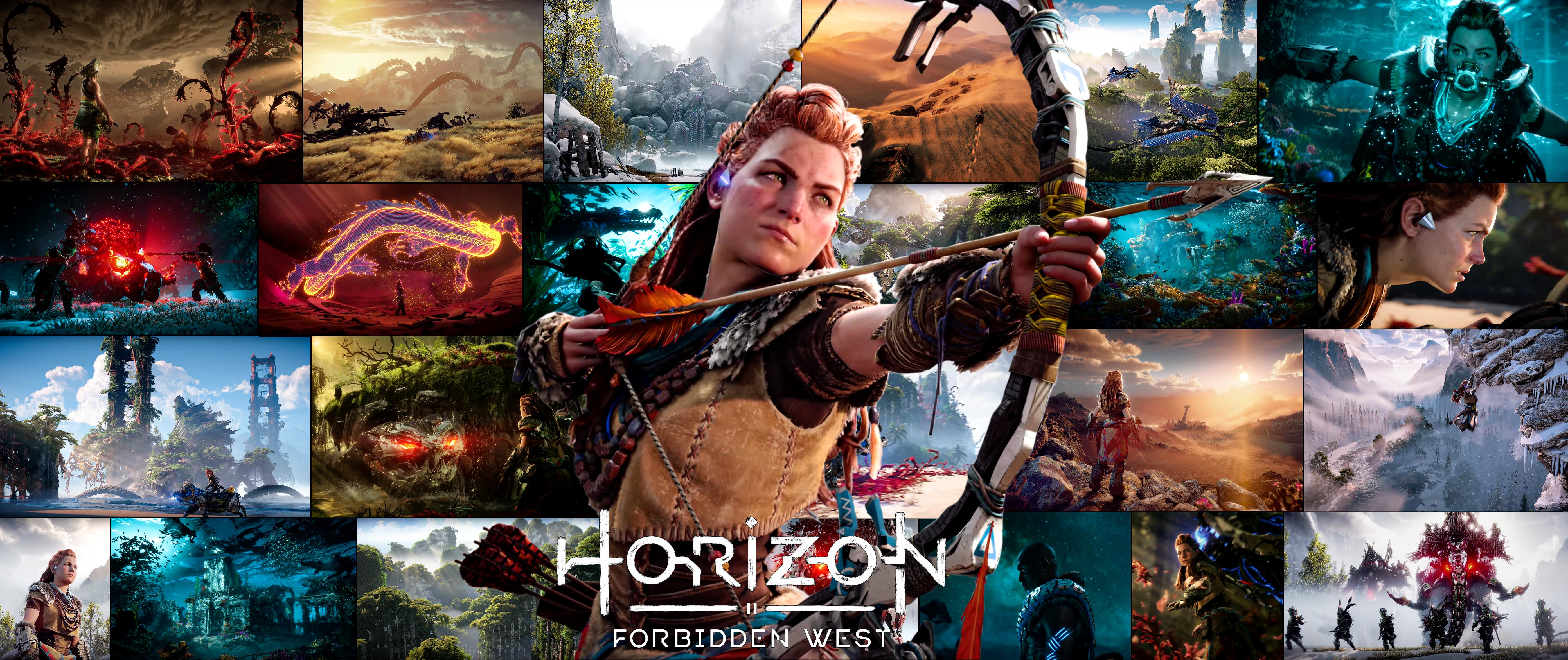 Picture with tags: HD, Horizon Forbidden West, Gaming, Games