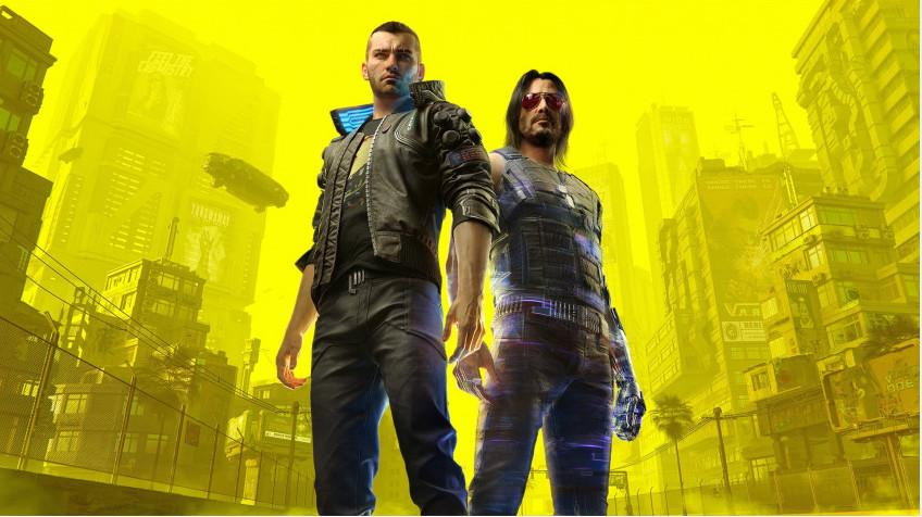 Picture with tags: Trailers, PC, Steam Helper, Xbox One, PlayStation 4, Cyberpunk 2077, Releases, RPG