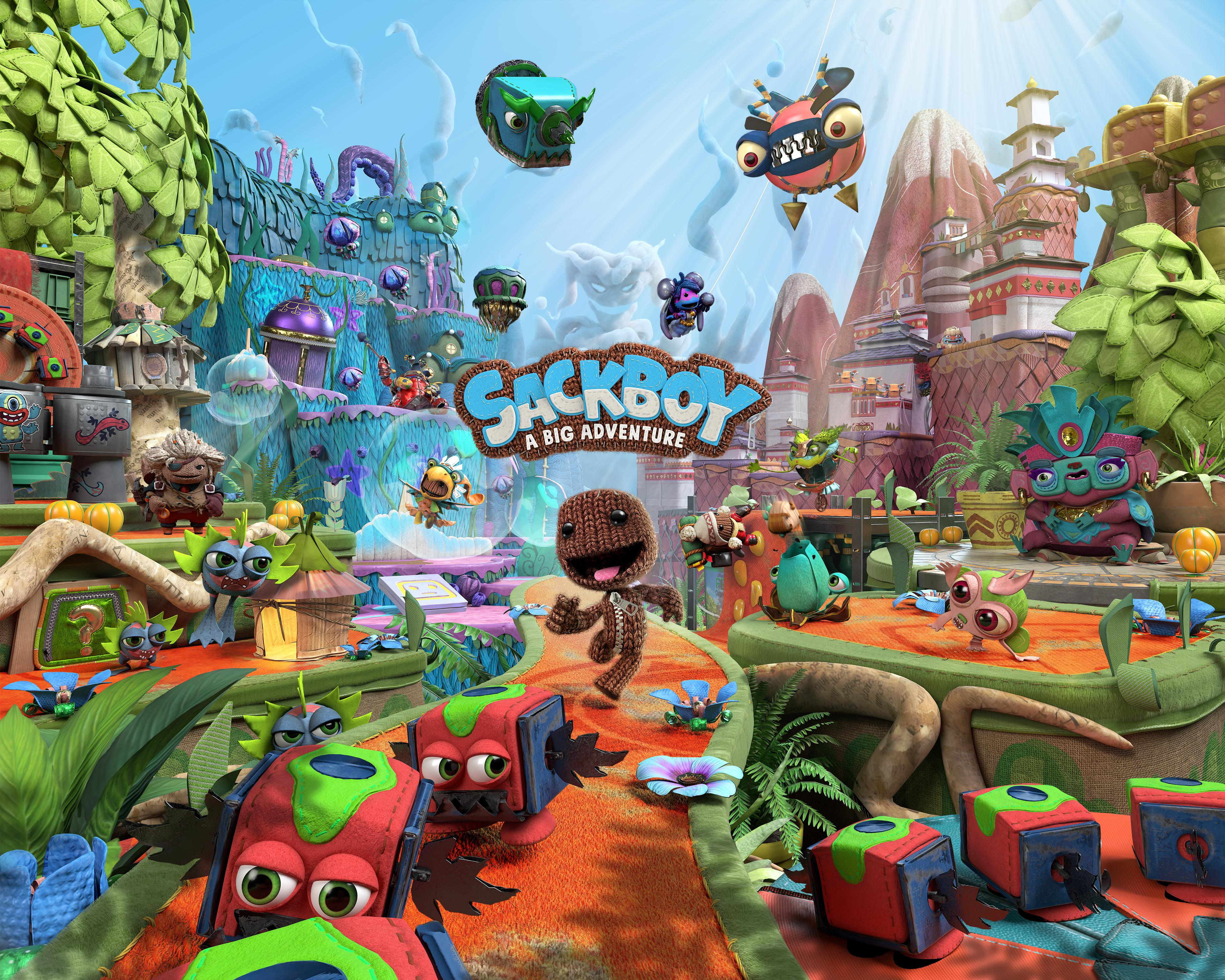 Picture with tags: Games, Gaming, Sackboy: A Big Adventure