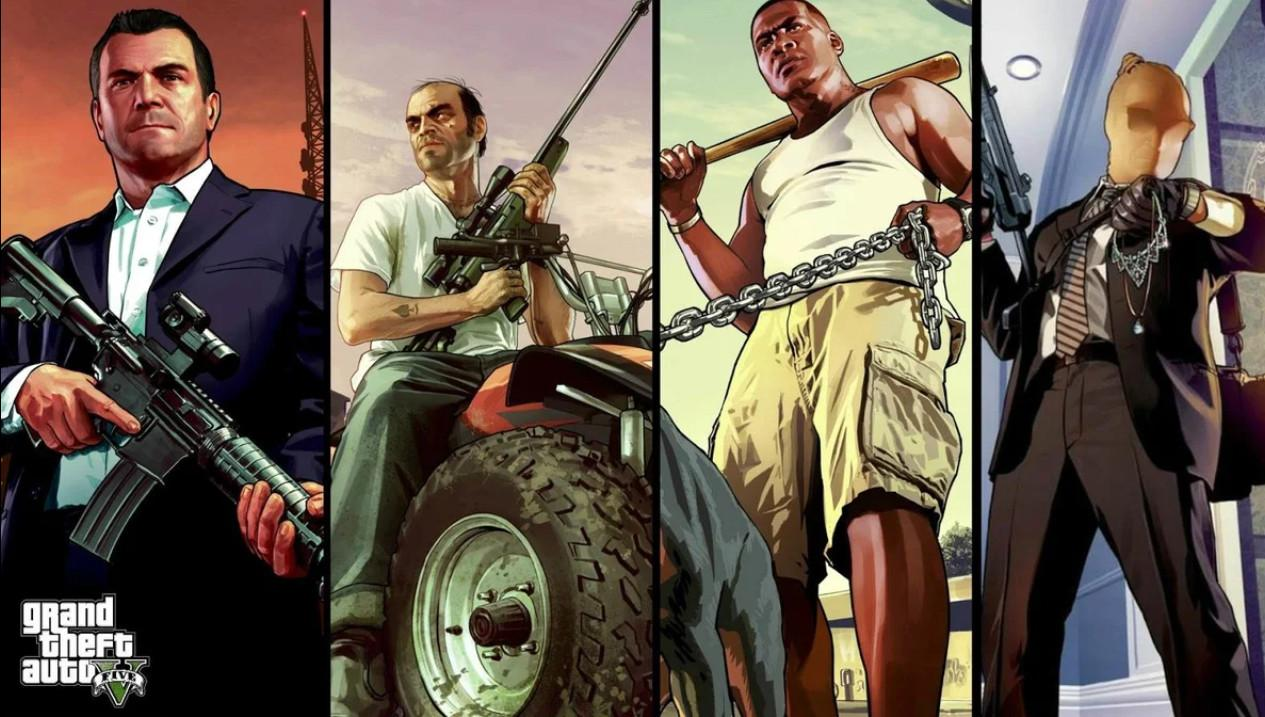 Публикация с тегами: Adventure, Action, Xbox One, PlayStation 4, PlayStation 5, ПК, Grand Theft Auto V, Обзоры, Паровой Помощник