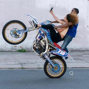 Picture with tags: Сouple, Bikes