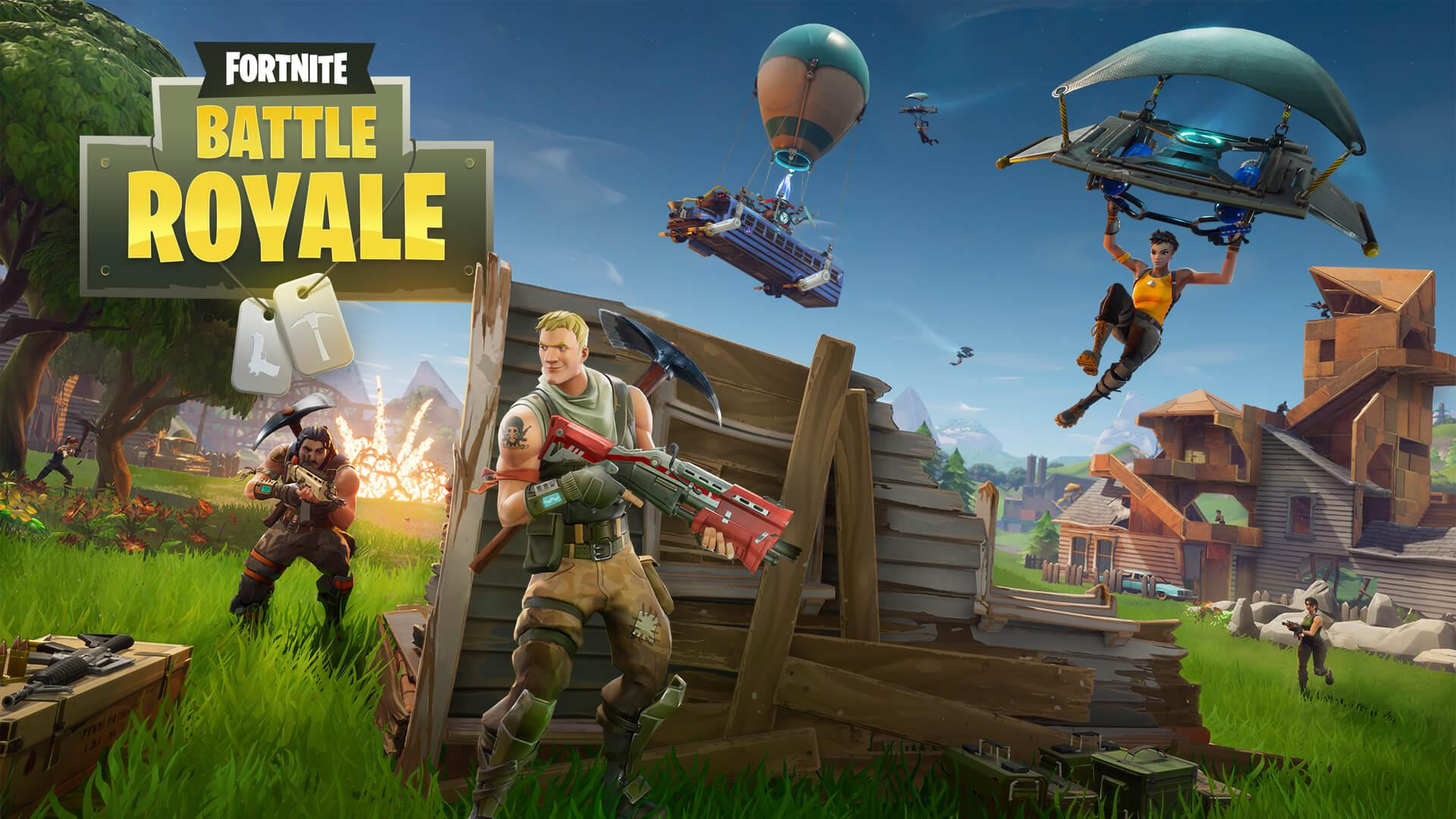 Picture with tags: HD, Games, Gaming, Fortnite, Reviews, It's worth playing